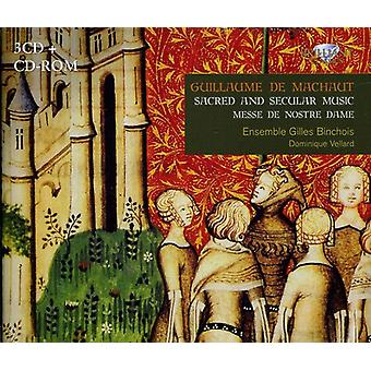 Guillaume De Machaut - Guillaume De Machaut: Sacred and Secular Music; Messe De Nostre Dame [CD] USA import