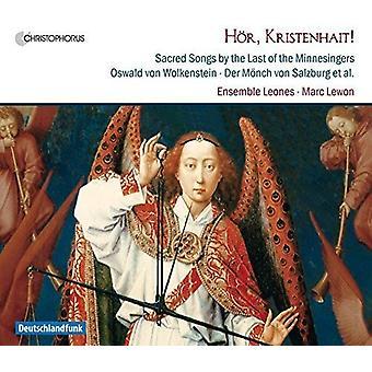 Wolkenstein / Ensemble Leones / Lewon - Hoer Kristenhait - hellige sange af sidst af [CD] USA import