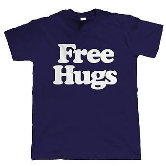 Free Hugs, Mens Funny Tshirt