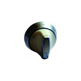 Indesit Knob Top Wht/Silver