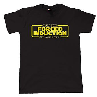 L'Induction forcée peut être avec vous, Mens T Shirt