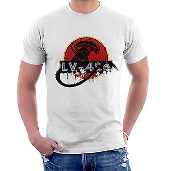 Acheron LV 426 Xenomorph obcy Jurassic Park Men's T-Shirt