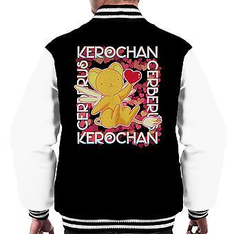 Cardcaptor Sakura Cerberus Kerochan Men's Varsity Jacket