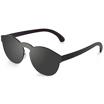 Ocean Long Beach Flat Lense Sunglasses - Black