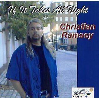 Christian Ramsey - If It Takes All Night [CD] USA import