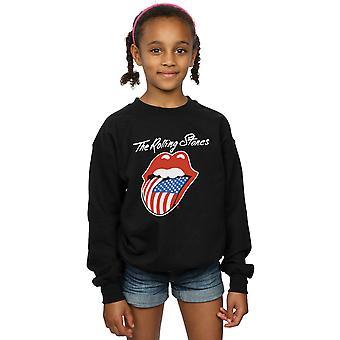 Rolling  Stones Girls American Tongue Sweatshirt