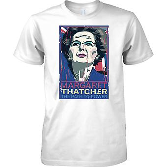 Margaret Thatcher - Weg zur Macht - T-Shirt für Herren