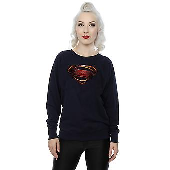 DC Comics kvinnors Justice League filmen Superman Emblem Sweatshirt