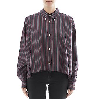 Isabel Marant ladies CH022417H024I80BY multicolour cotton shirt