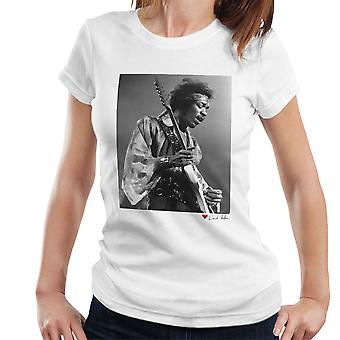 Jimi Hendrix At The Royal Albert Hall 1969 Alt White Women's T-Shirt