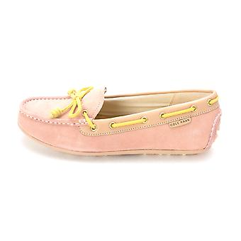 Cole Haan Womens D43381 Suede Closed Toe Boat Shoes