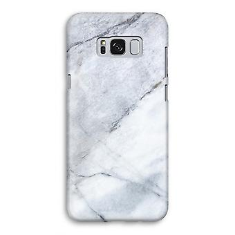 Samsung Galaxy S8 Full ut fallet - marmor vit