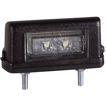 LEDs Number plate light rear 12 V