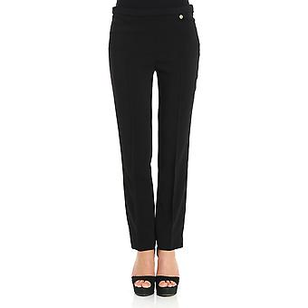 Versace collection women's G34769G601826G1008 black polyester pants