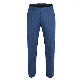 Gibson London Gibson London Blue Fleck Trousers