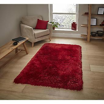 Montana Red  Rectangle Rugs Plain/Nearly Plain Rugs