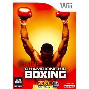 Showtime kampioenschap boksen (Wii)