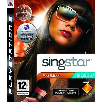SingStar Pop Edition - PlayStation Eye verbessert (PS3)