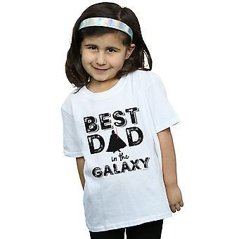 Star Wars Girls Best Dad In der Galaxy-T-Shirt