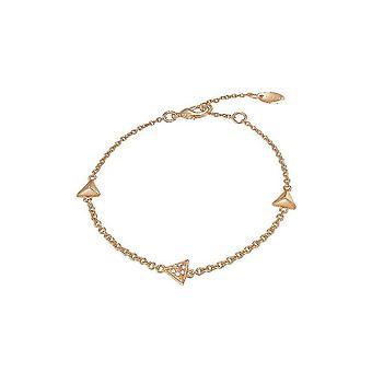 ESPRIT ladies bracelet stainless steel JW50214 Rosé cubic zirconia ESBR01888C160