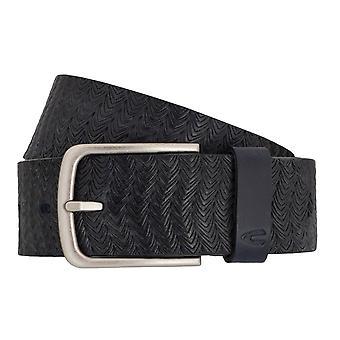 Camel active belts men's belts leather jeans belt blue 7000