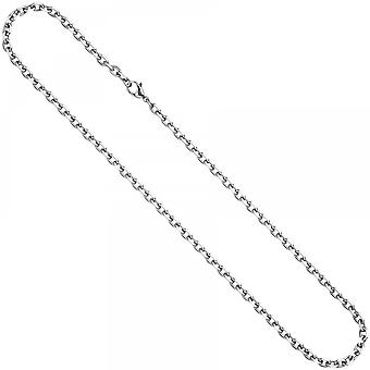 Anchor chain stainless steel 90 cm necklace chain carabiner