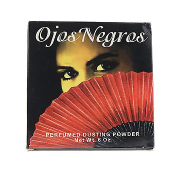 Ojos Negros '' Perfumed Dusting Powder 6oz/170g New In Box