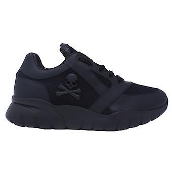 Zapatillas de deporte para hombre de negro