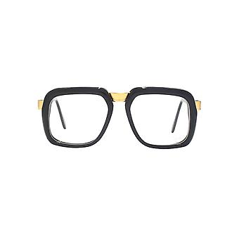 Cazal 616 Glasses In Shiny Black Gold