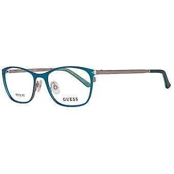 GUESS glasses ladies turquoise