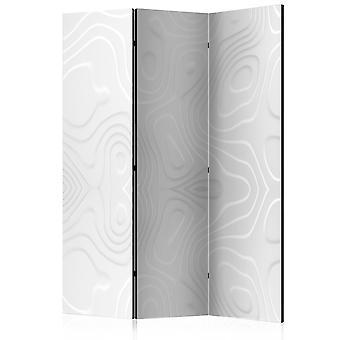 Sala divisor - separador de ambientes - blanco ondas I