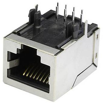 Modulära monterade socket Socket, horisontella mount MEB8/8PG metall econ ansluta MEB8/8PG 1 dator