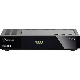 Renkforce 2500S HD SAT receiver Single cable distribution, Recording function No. of tuners: 1
