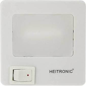 Veilleuse LED 47202 Heitronic Square LED Neutral white blanc