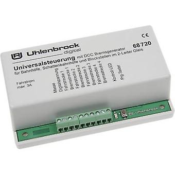 Universal control Uhlenbrock 68720 for tracks with 2 conductive rails