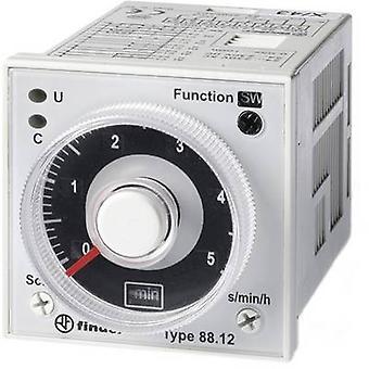 Finder 88.12.0.230.0002 TDR multifonction 1 PC (s) ATT. FX. PLAGE horaire: 0,05 s - 100 h 2 changement-overs