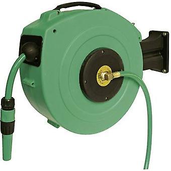 Garden hose reel 13 mm 1/2  20 m Green as - Schwabe 12616