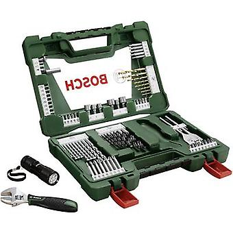 Universal drill bit set TiN 83-piece Bosch Accessories V-Line