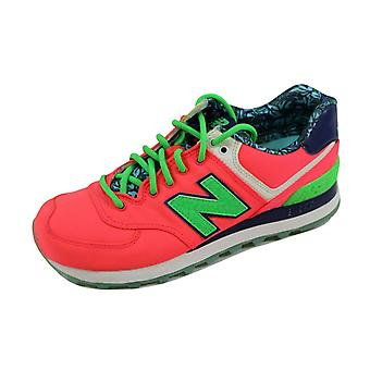 New Balance 574 Pink/Green-Navy Luau Pack WL574ILC