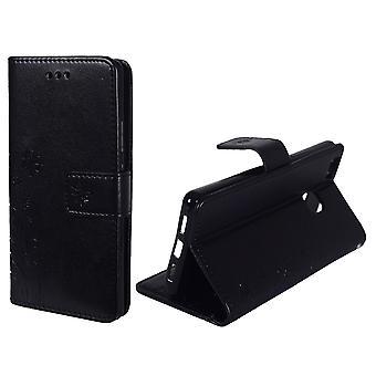 Fiori di copertura protettiva per mobile Huawei P9 Lite nero