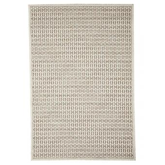 Outdoor carpet for Terrace / balcony beige natural white Skandi look Stuoia mink 155 / 230 cm carpet indoor / outdoor - for indoors and outdoors