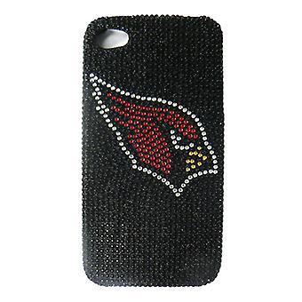 Ubegrænset cellulære NFL Glitz Case for Apple iPhone 4/4S (fuld diamant krystal, A