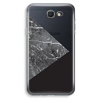 Samsung Galaxy J7 Prime (2017) Transparent fodral (Soft) - marmor kombination