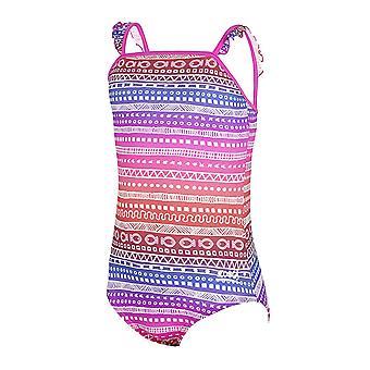 ZOGGS Ikat falbanką klasyfikator w tył strój kąpielowy różowy/Multi