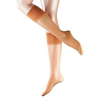 Falke Pure Matte Transparent 20 Denier Knee High Tights - Golden Tan