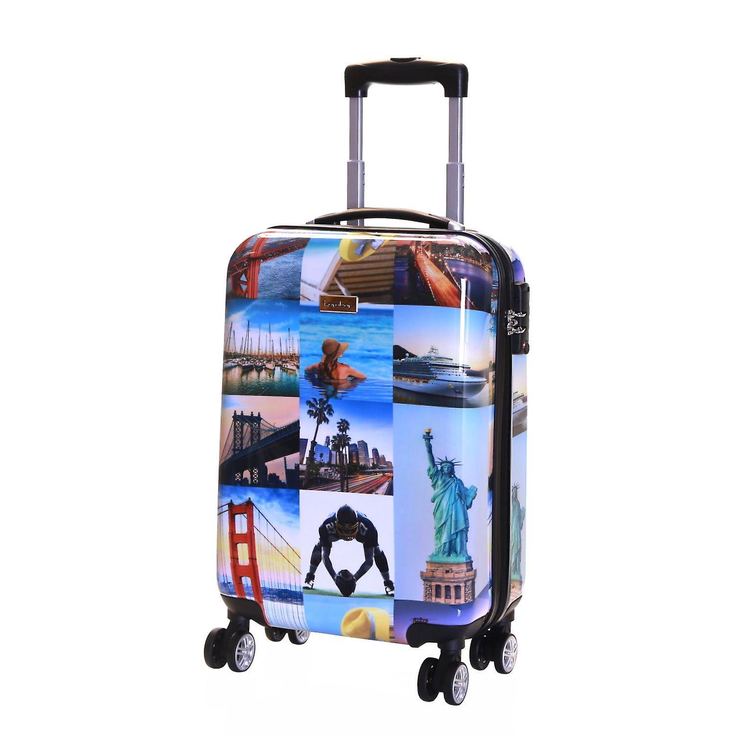 Karabar Falla Cabin 55 cm Hard Suitcase, America