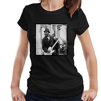 TV volte Muddy Waters Blues e t-shirt Gospel Train 1964 donna