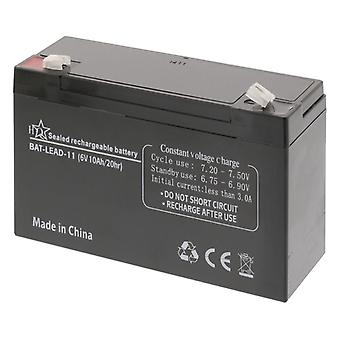 HQ Bat-Blei-11 Blei-Säure Batterie 6 V 10 Ah