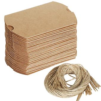 Rustic Wedding favour gift boxes 100PC Set with Twine DIY Make your own - By TRIXES