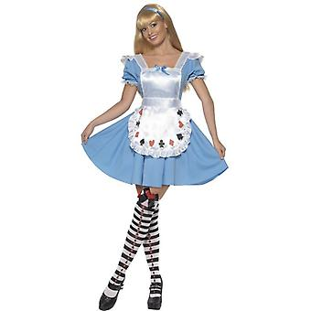Deck of Cards Girl Costume, UK Dress 8-10